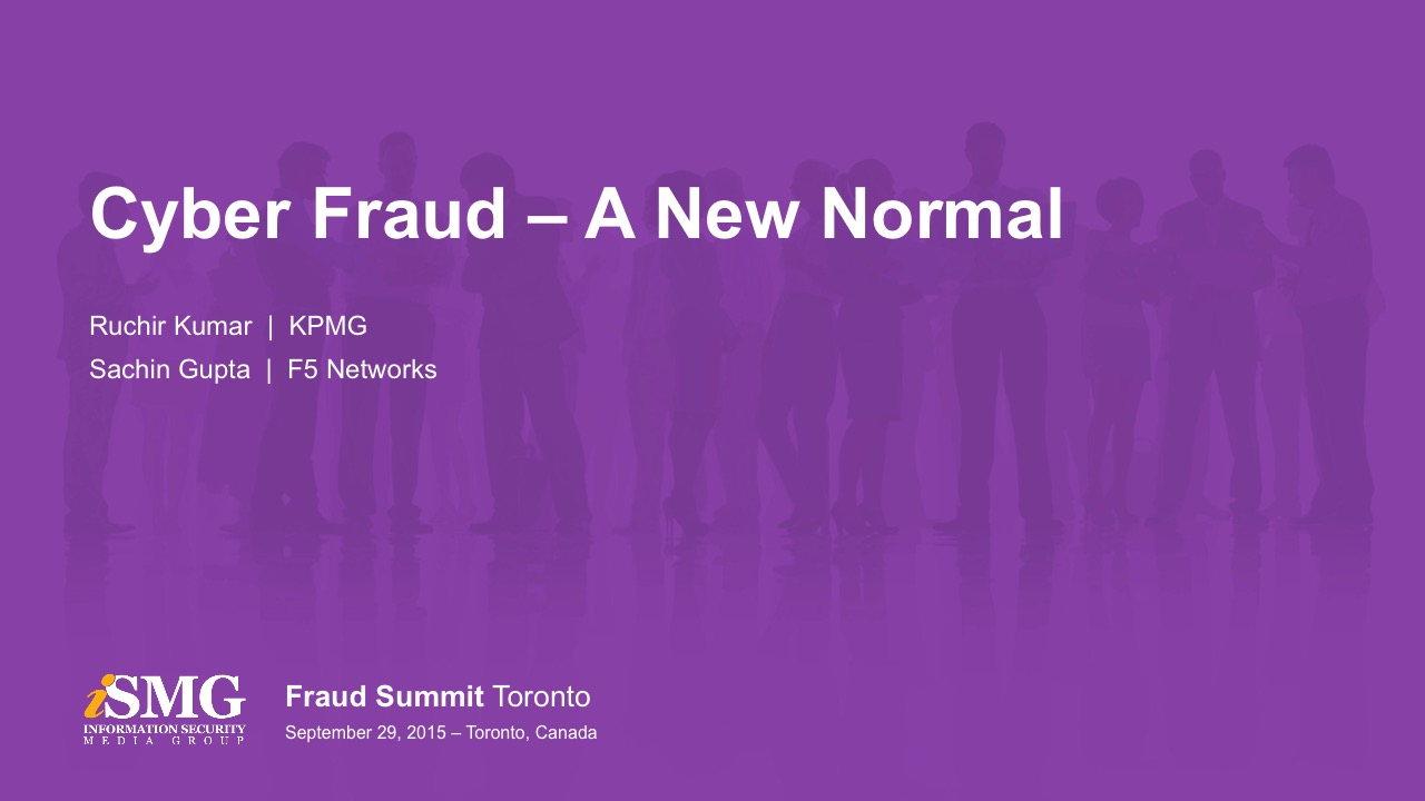 Cyber Fraud - the New Normal and First Party Fraud