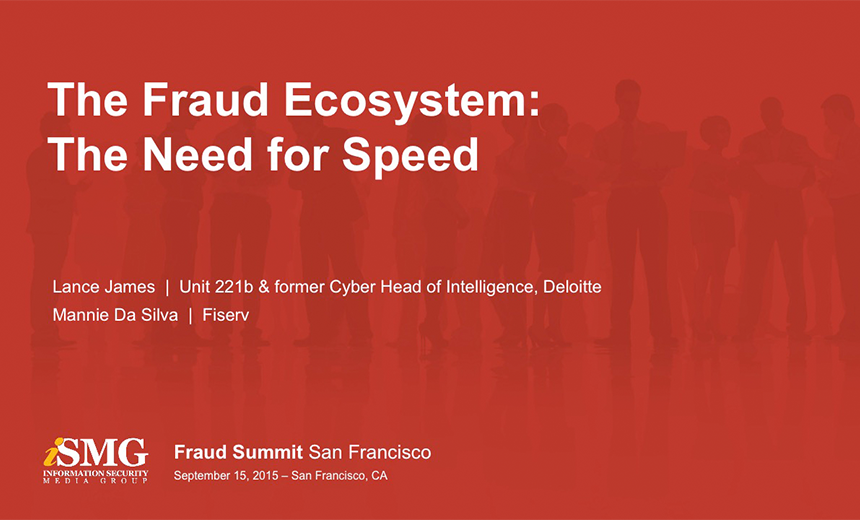 The Fraud Ecosystem: The Need for Speed