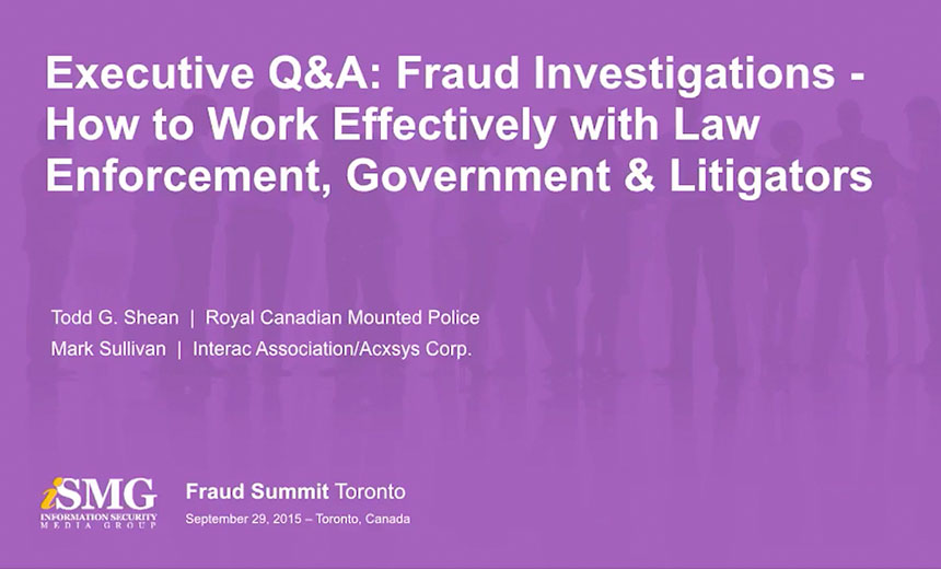 Fraud Investigations: How to Work Effectively with Law Enforcement, Government and Litigators