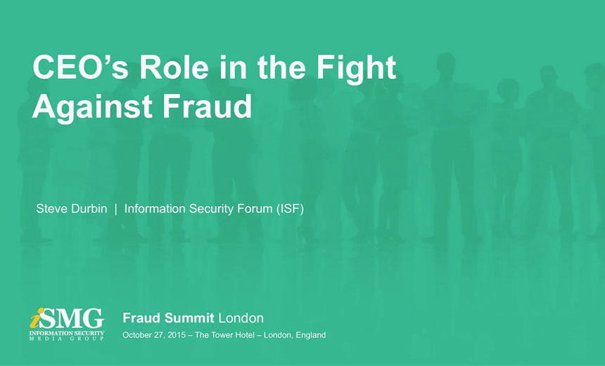 CEO's Role in the Fight Against Fraud