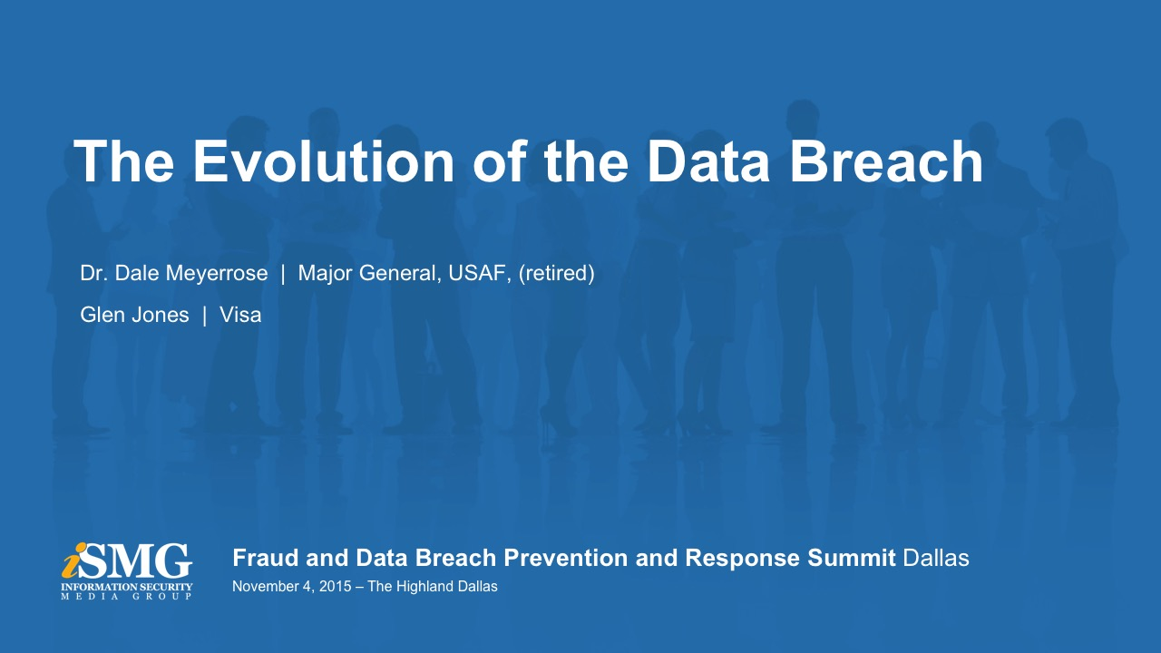 The Evolution of the Data Breach